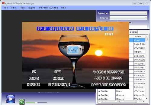 Readon Player TV Radio Portable 7.6.0.0 EN