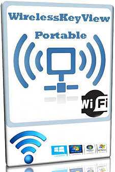 WirelessKeyView Portable 2.05 (32-64 bit) RUS